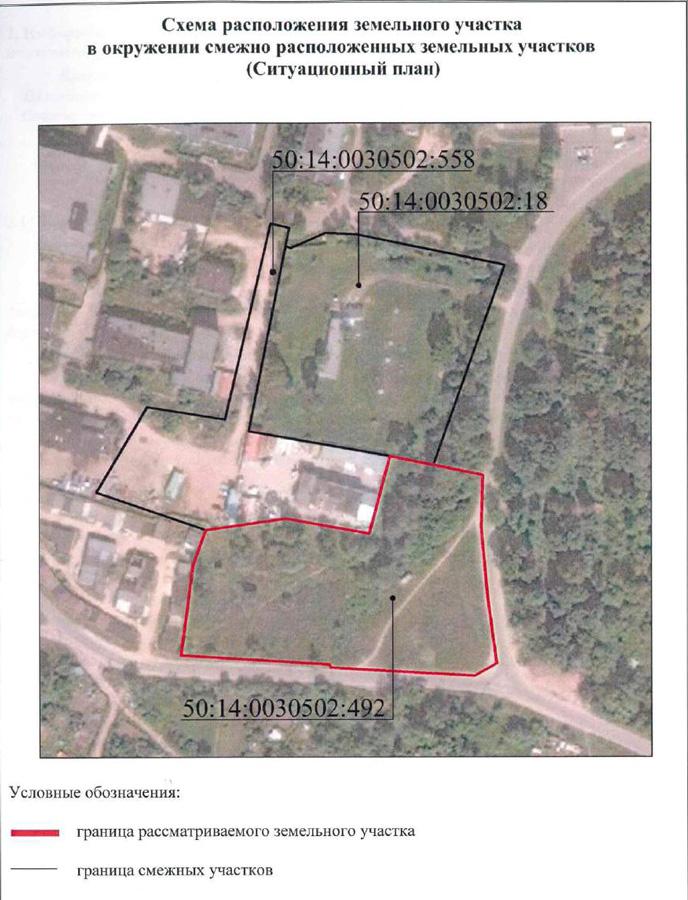 земельный участок расположенный