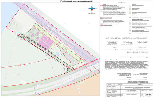 Проект межевания территории