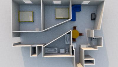 Дизайн 1-комнатной квартиры 30-35 кв м в панельном доме